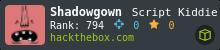 Shadowgown