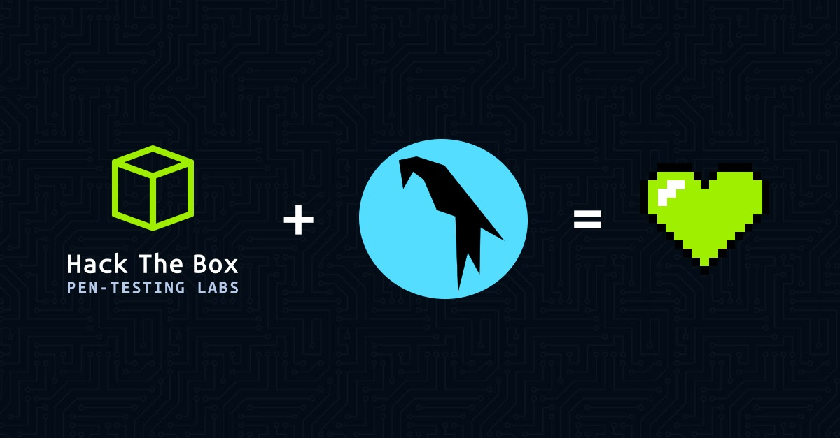 Hack The Box and Parrot OS Collaboration Announcement